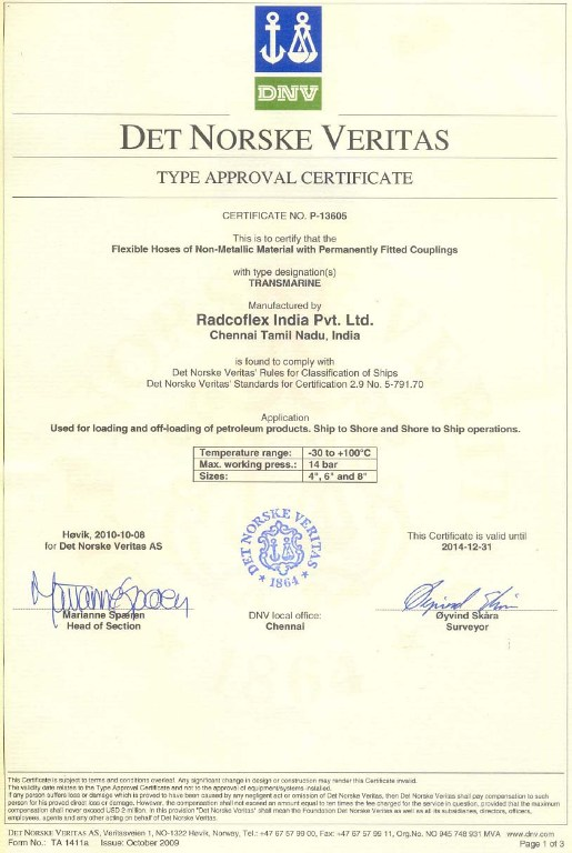 certification dnv india imo approval